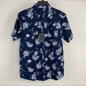 Ben Sherman shortsleeved button down shirt.